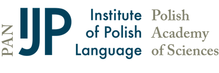 Institute of Polish Language Polish Academy of Sciences